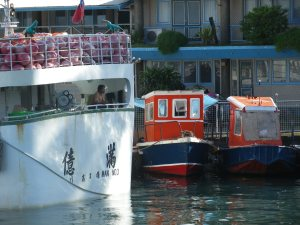 Tugboats in Suva Harbour